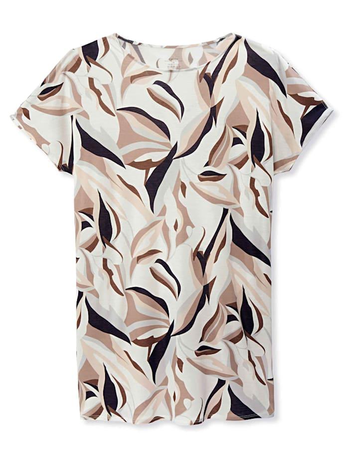 Calida Sleepshirt kurzarm, Länge 90cm STANDARD 100 by OEKO-TEX zertifiziert, Star White