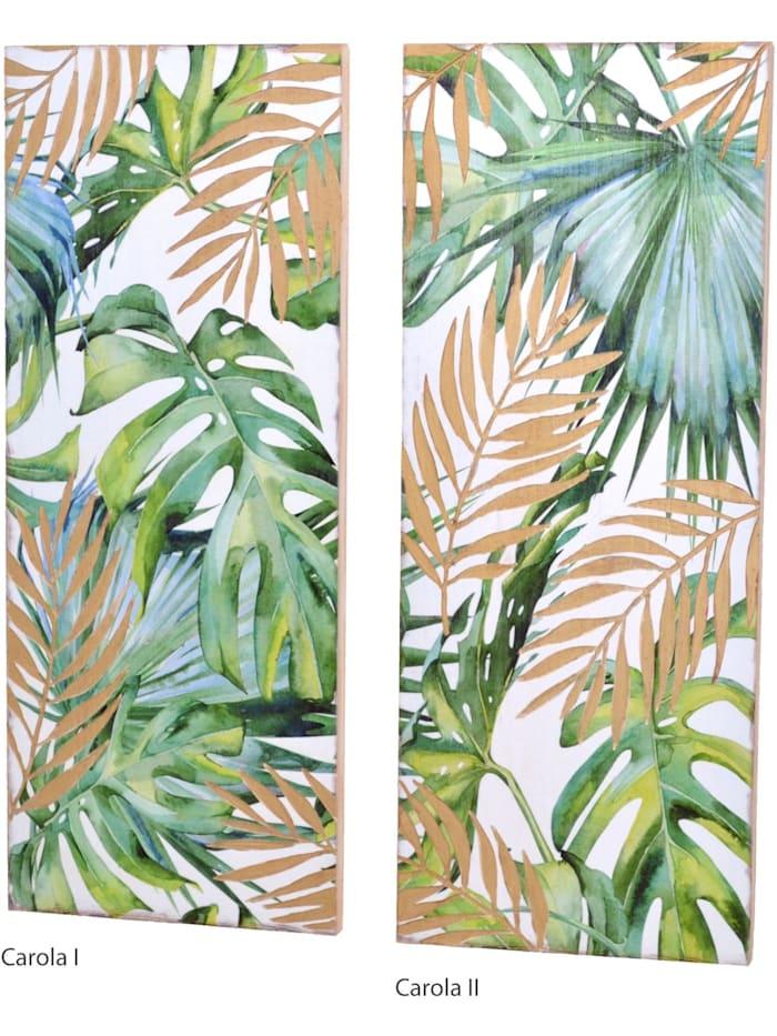 Möbel-Direkt-Online Wanddekoration Carola II, grün