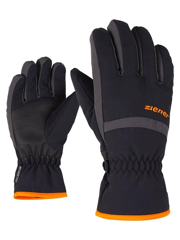 Ziener LEJANO AS(R) glove junior, Black/graphite
