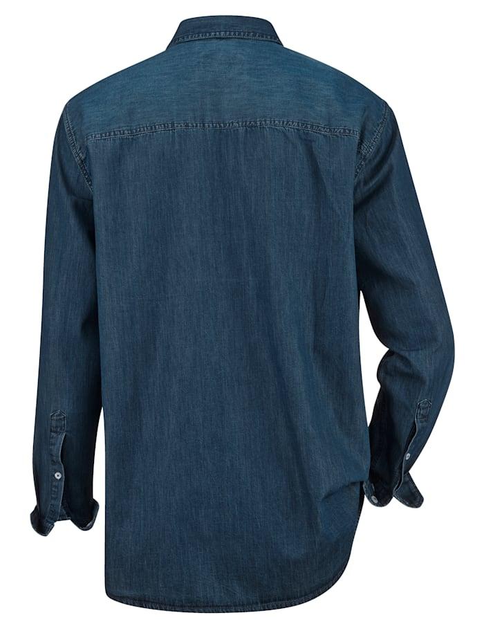 Jeanshemd mit zwei Brusttaschen