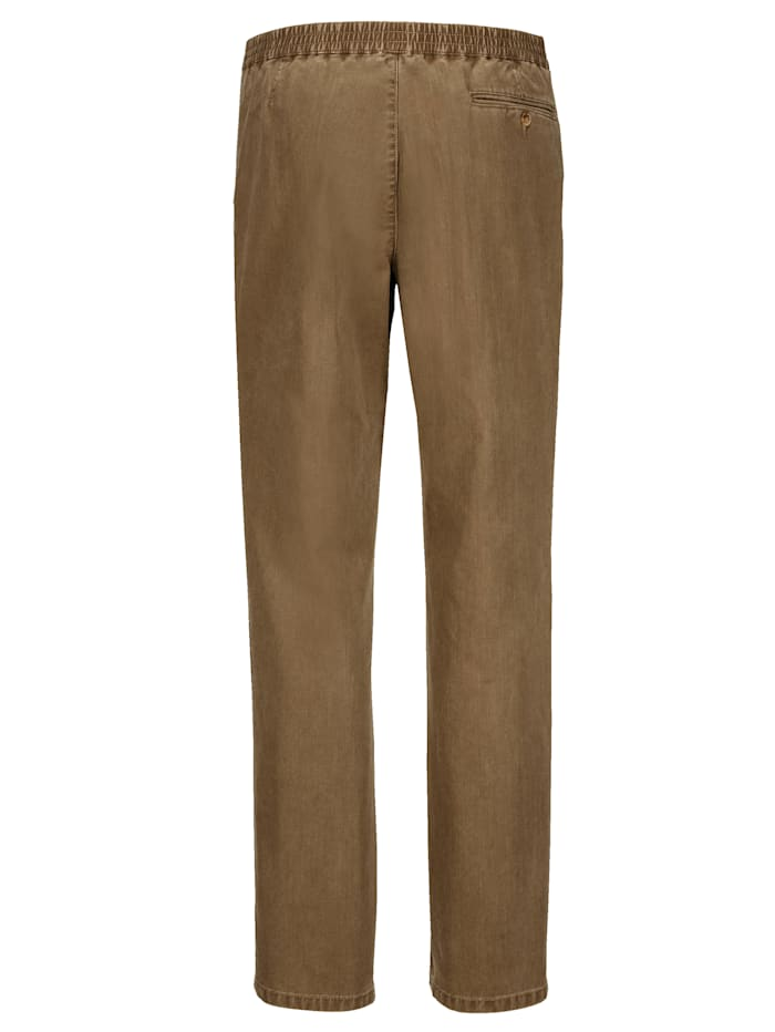Kalhoty s gumovou pasovkou
