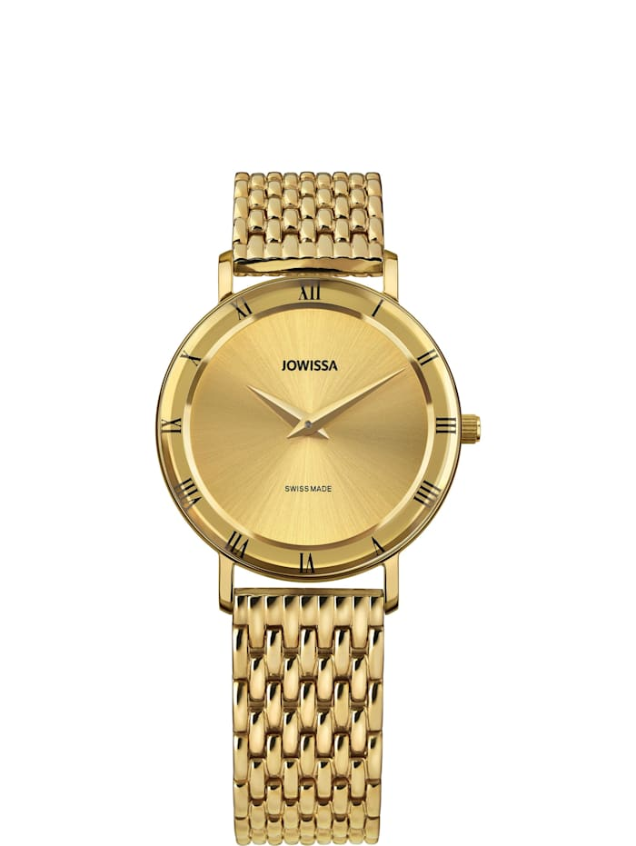 Jowissa Quarzuhr Roma Swiss Ladies Watch, gold