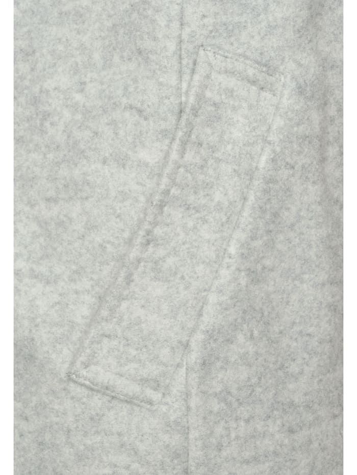 Kurzmantel in Unifarbe