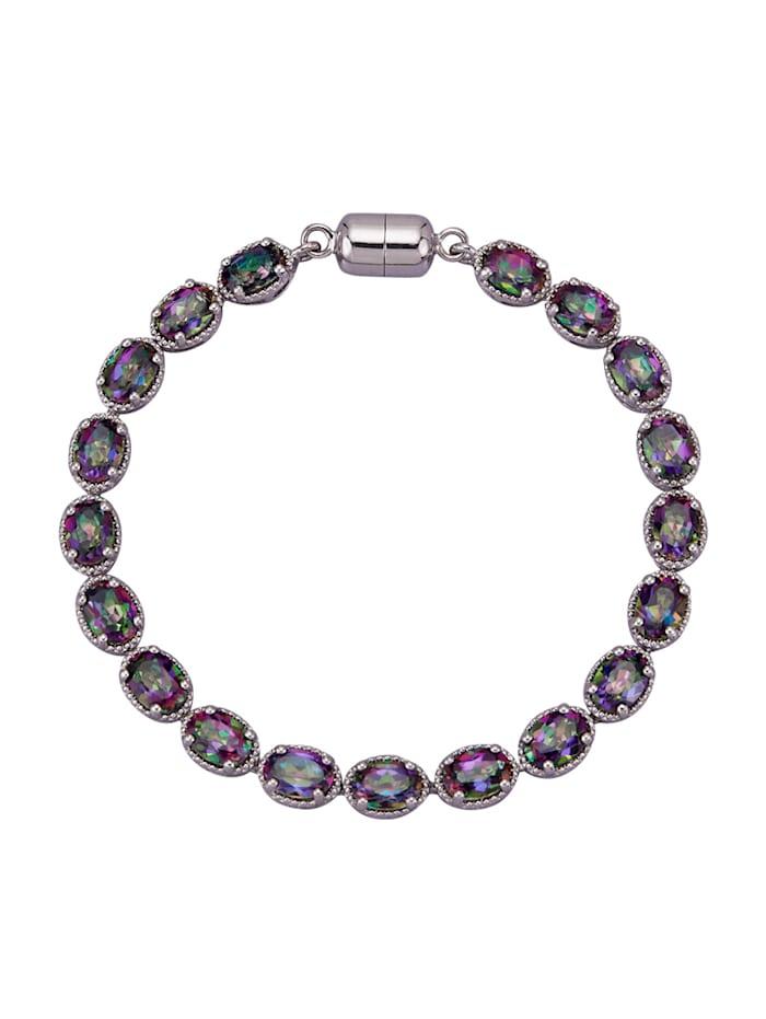 Bracelet Avec topazes Mystic, Multicolore