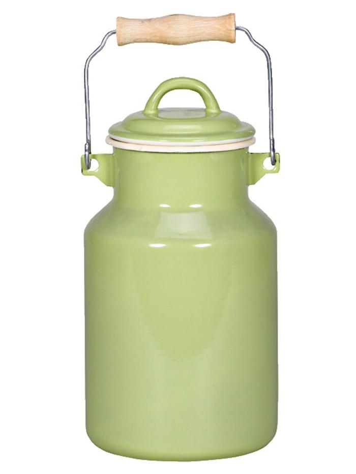 Krüger Milchkanne Sylt/Juist, grün/beige - Juist