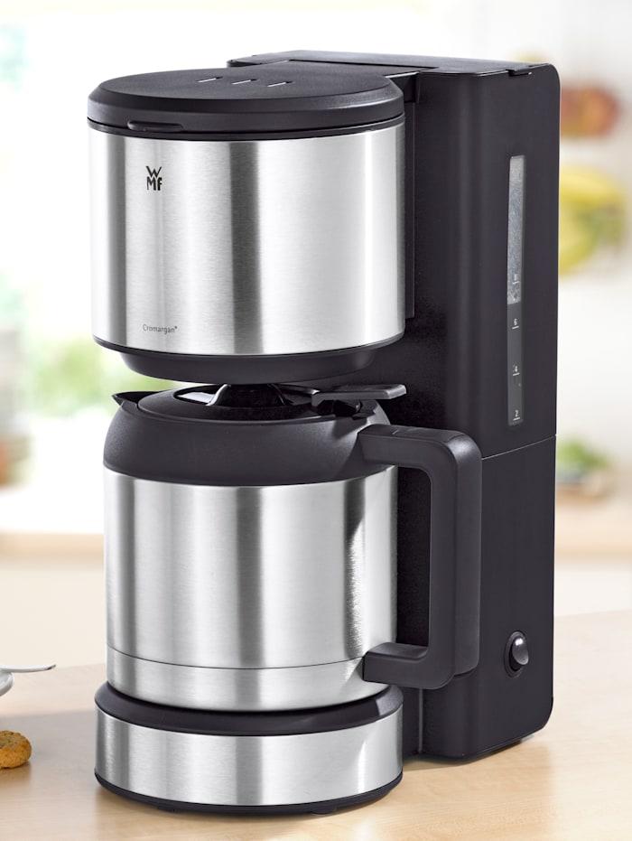 WMF Kaffeemaschine STELIO mit Thermokanne, silber/ edelstahl