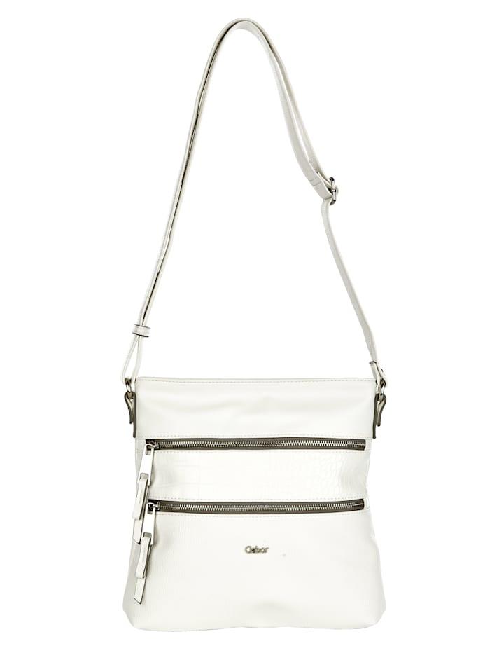 Gabor Shoulder Bag in a classic design, White