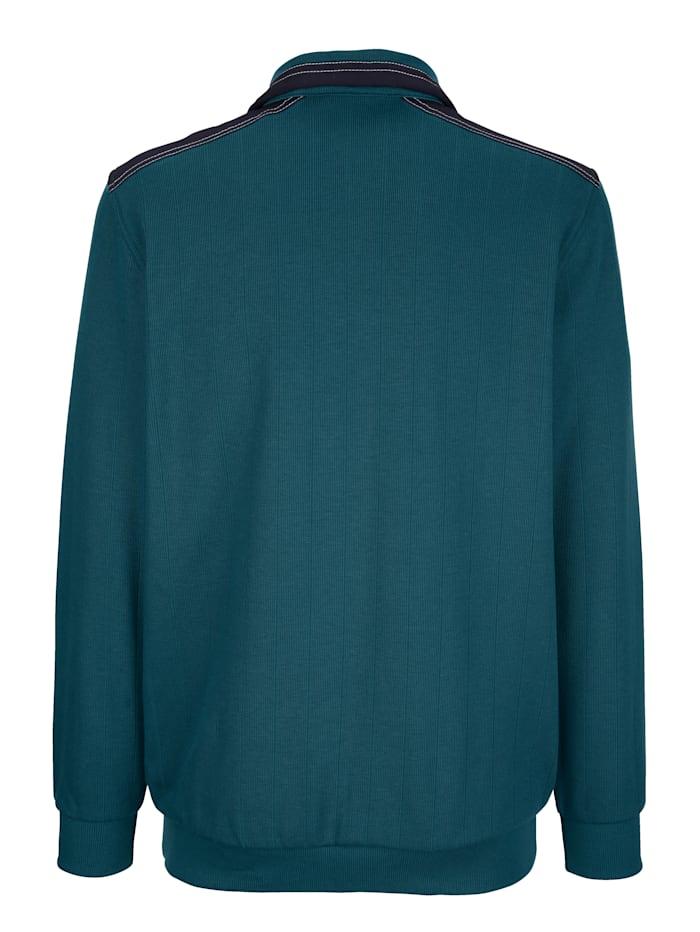 Pullover mit praktischer Brusttasche