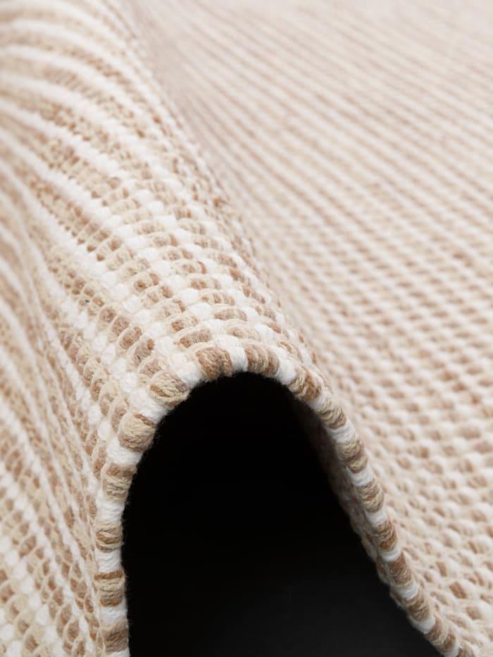 Baumwolle Natur Kelim Teppich Sandy Modern