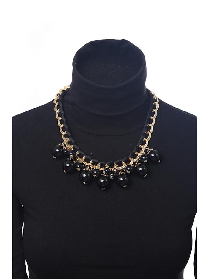 Kurze Kette Trixi mit unterschiedlichen Perlen