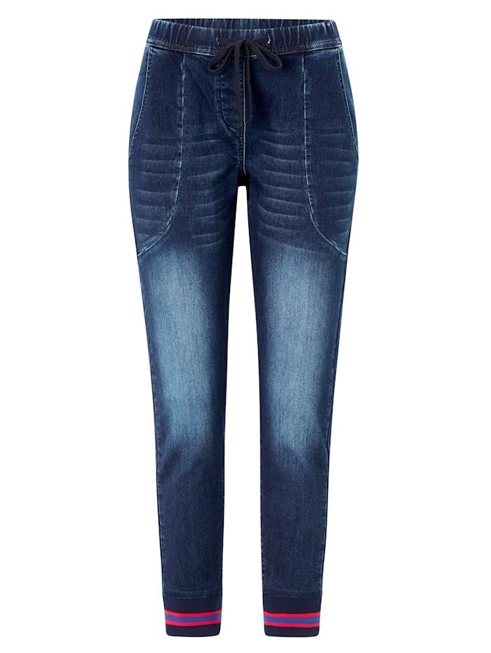 REKEN MAAR Jeans, Jeansblau