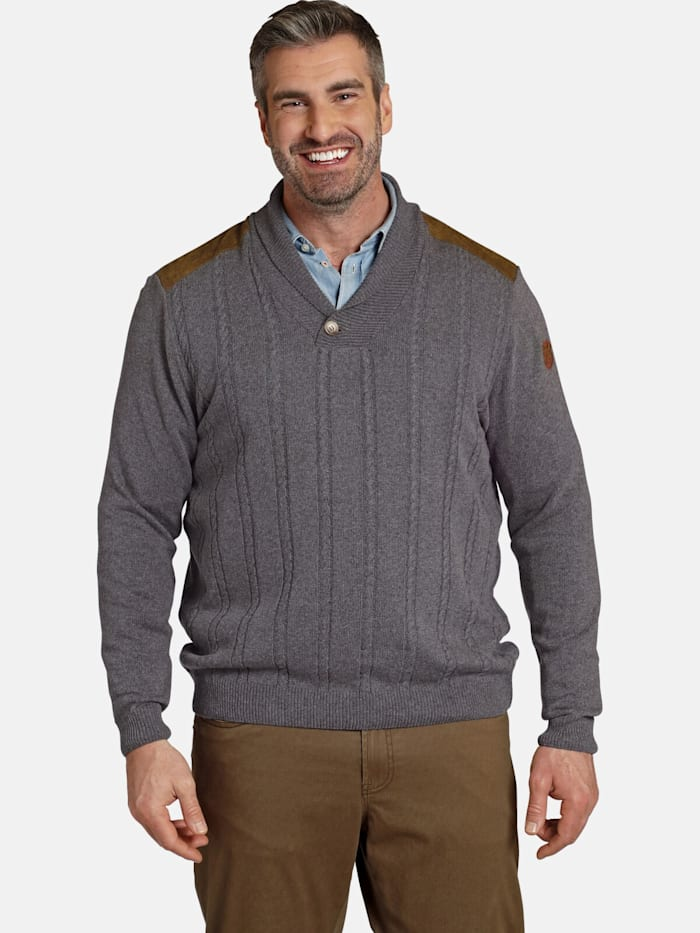 Charles Colby Charles Colby Pullover EARL MARN, dunkelgrau