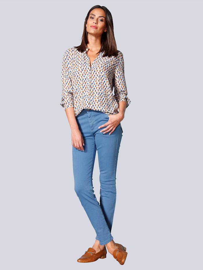 Jeans aus super Stretch Denim