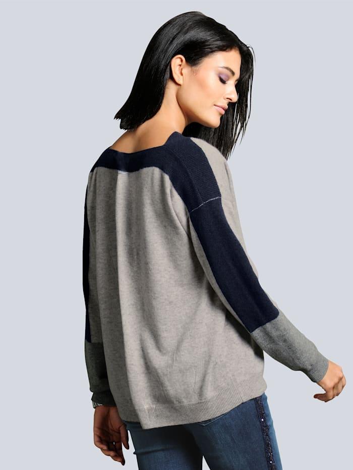 Pullover aus hochwertigem, kuschelweichem Kaschmir