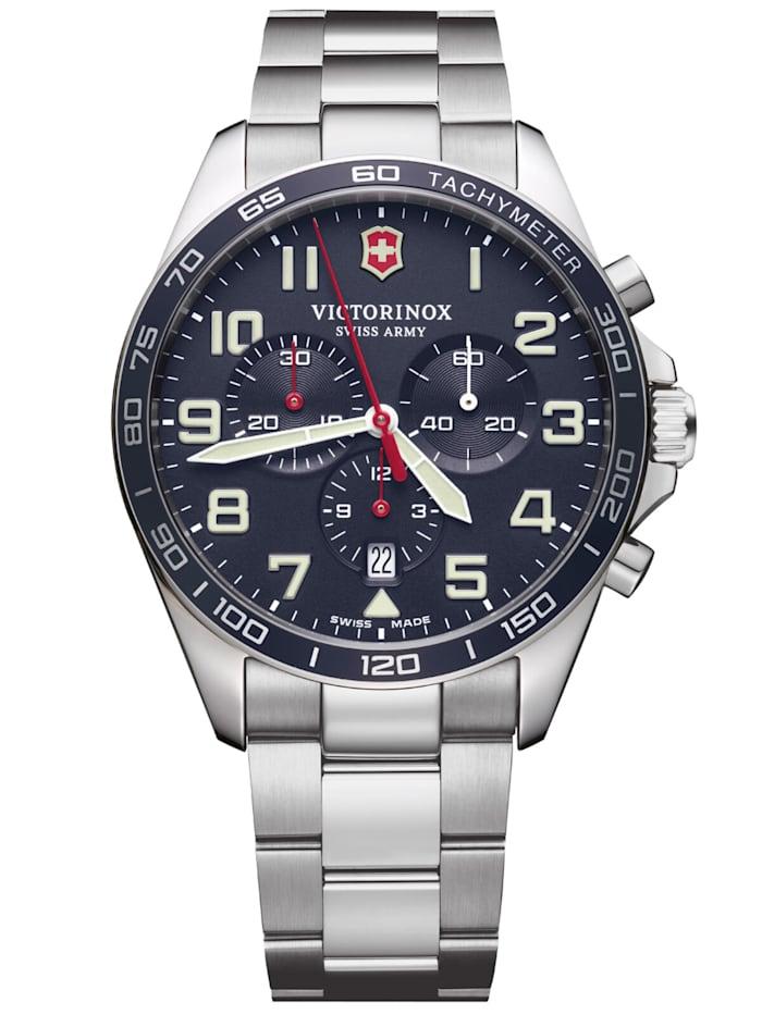 Victorinox Herren-Armbanduhr FieldForce Chronograph, Blau
