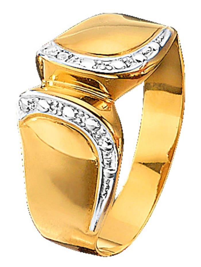 Damesring met diamant