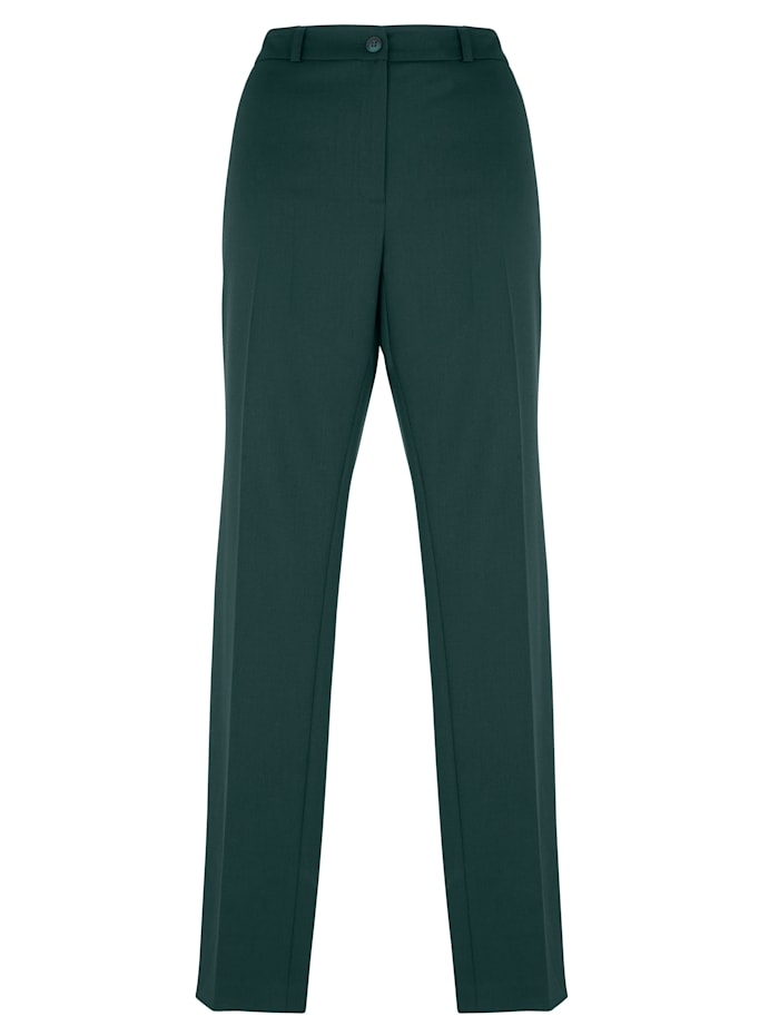 Wool-blend trousers with a hint of stretch