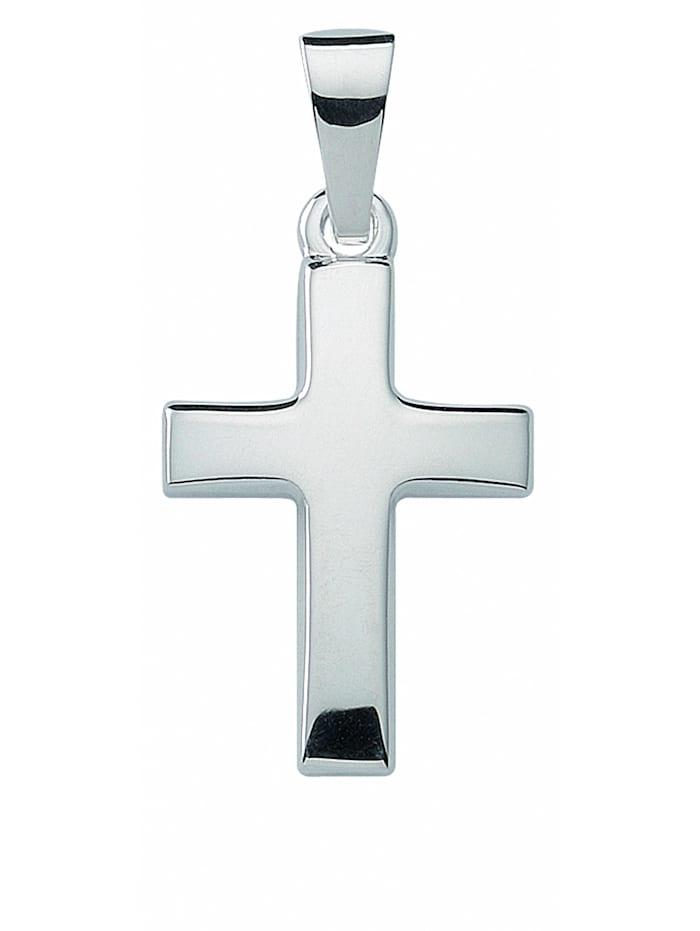 1001 Diamonds Damen & Herren Silberschmuck 925 Silber Kreuz Anhänger, silber