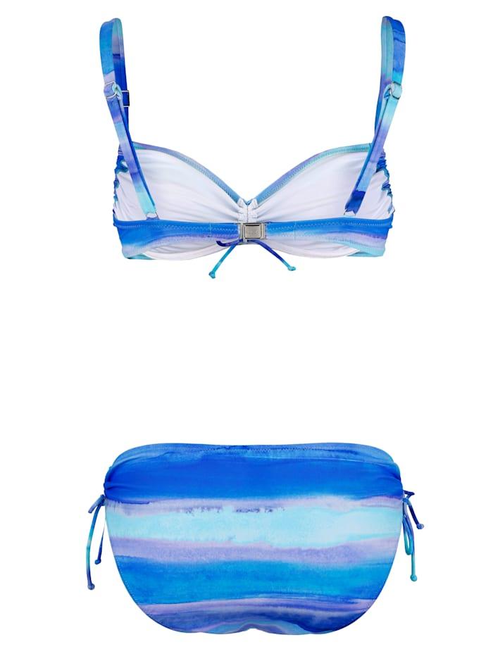 Bikini in aquarellook