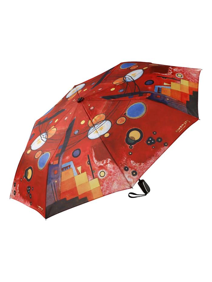"Goebel Taschenschirm Wassily Kandinsky - ""Schweres Rot"""