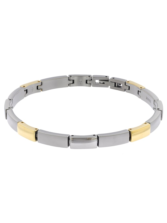Boccia Damen-Armband Titan Bicolor, Multicolor