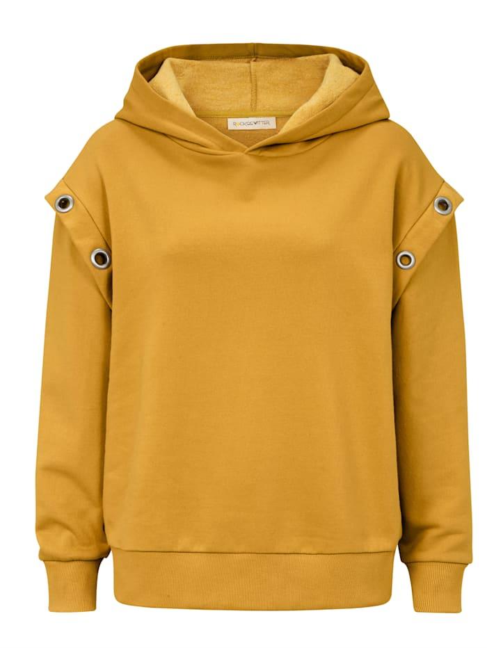 ROCKGEWITTER Sweatshirt, Gelb