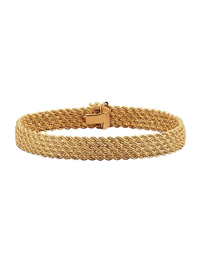 Koordarmband van 14 kt. goud, Geelgoudkleur