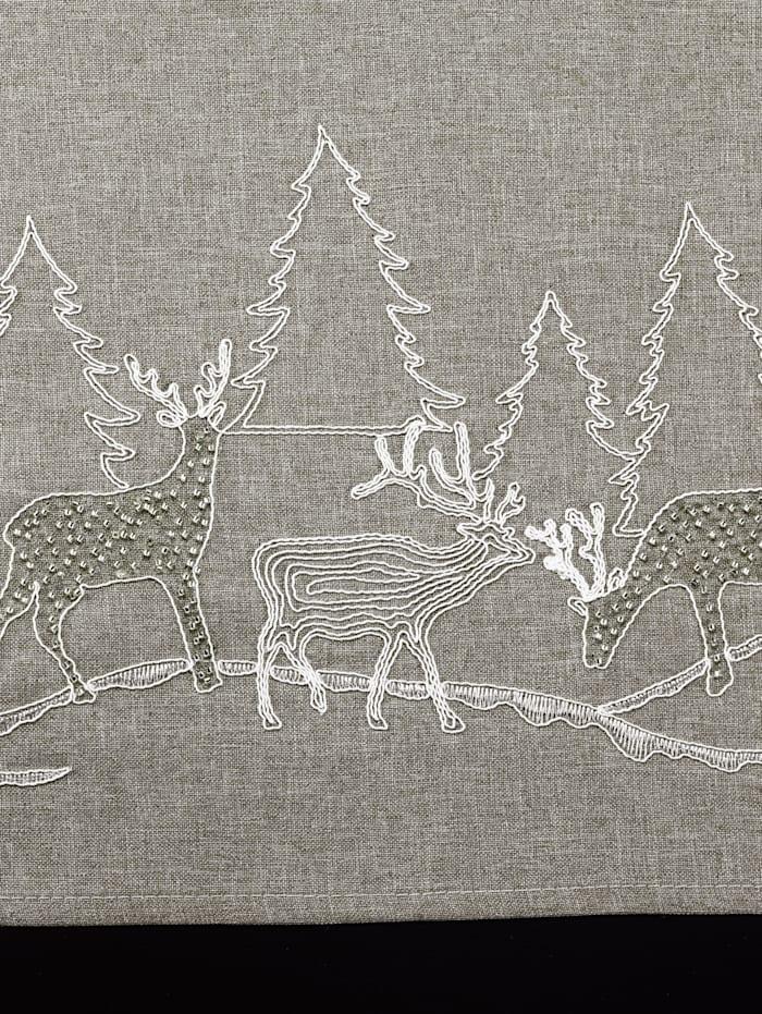 Textilserie med renmotiv