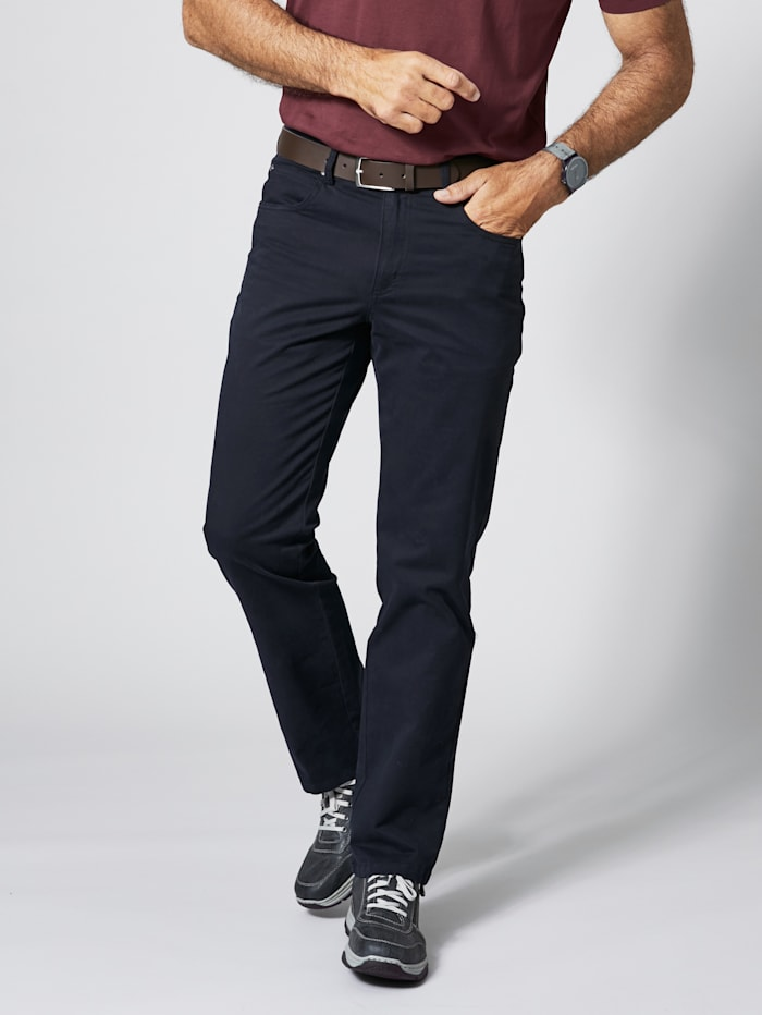 Men Plus Hose, Marineblau