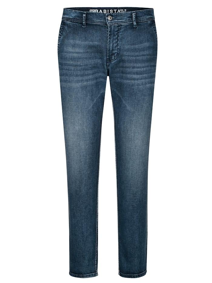BABISTA Jeans in chinomodel, Blauw
