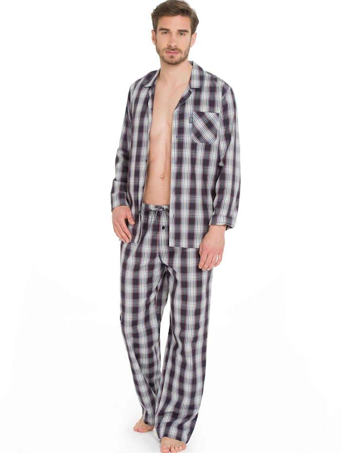 Jockey Web-Pyjama, stonewash