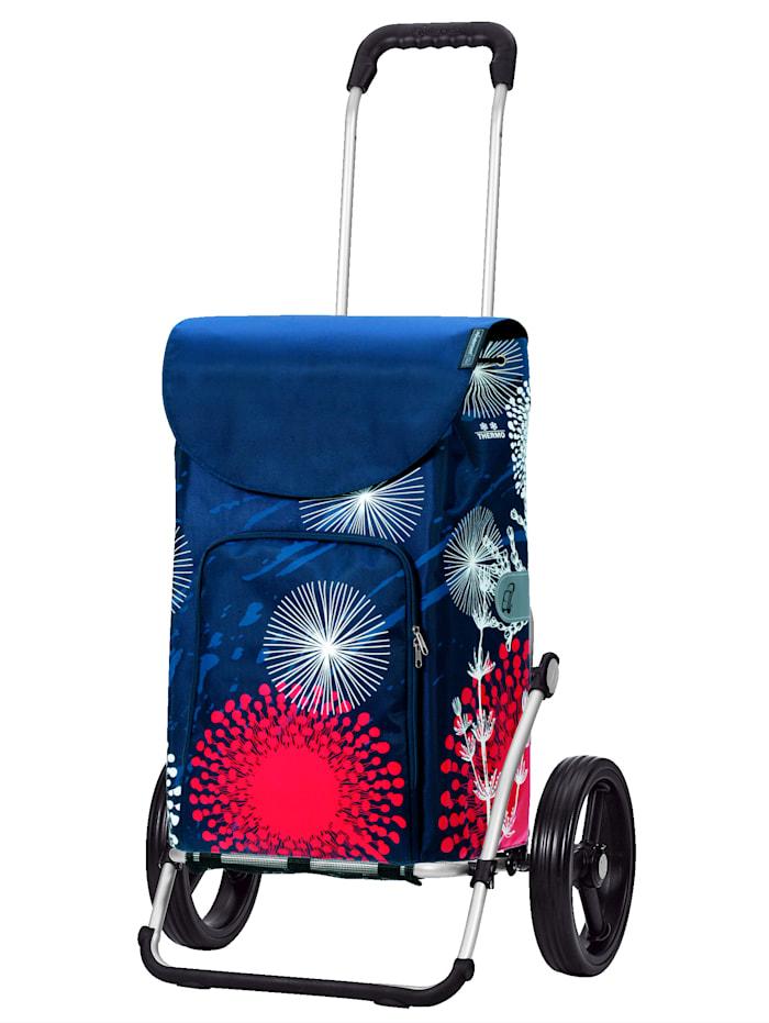 Andersen Andersen Shopper Royal Lily, blau/rot/weiß - Pusteblume