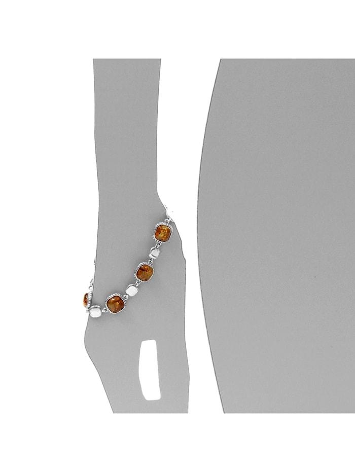 Armband - Franziska - Silber 925/000 - Bernstein