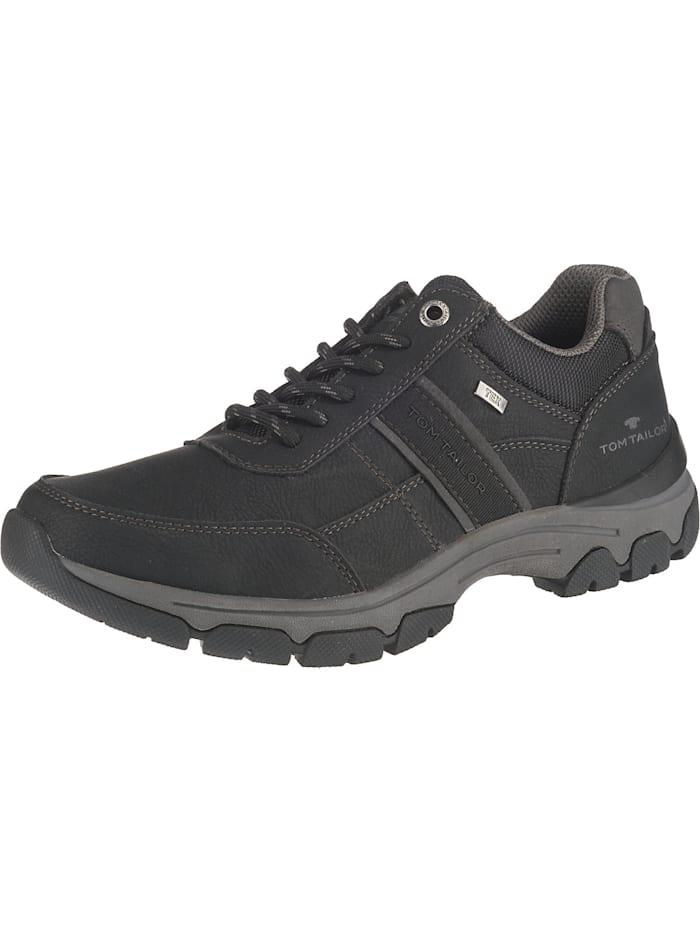 Tom Tailor Sneakers Low, schwarz