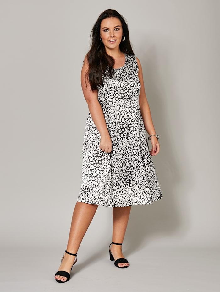 Kleid mit Alover-Print