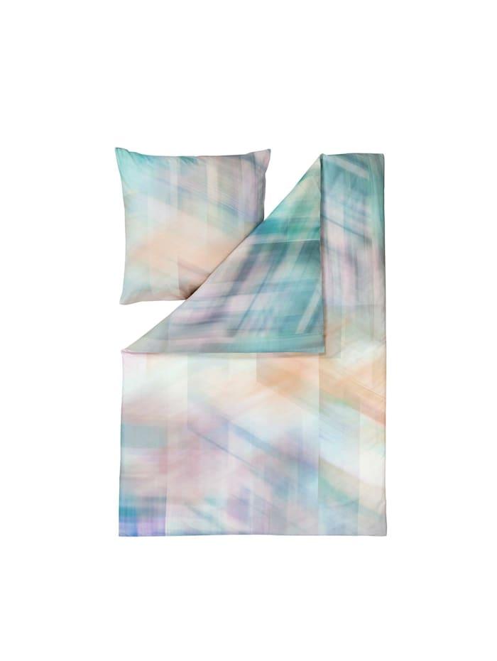 Estella Mako-Satin Bettwäsche Mirage multicolor, multicolor