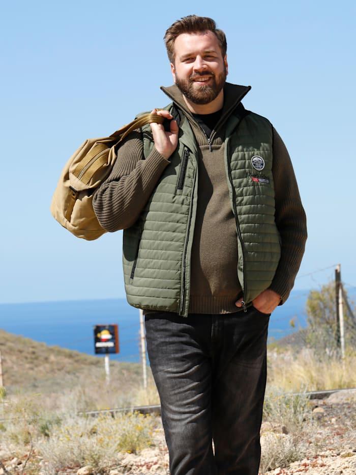 Steppweste mit praktischen Taschen