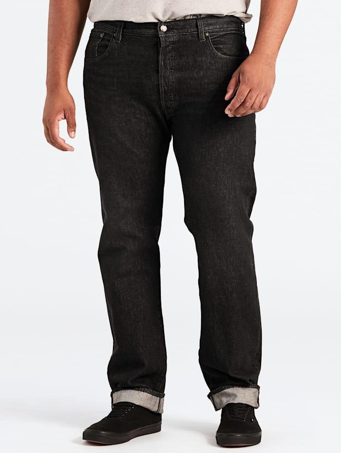 Levi's Straight Fit Jeans 501™ geknöpft, Schwarz