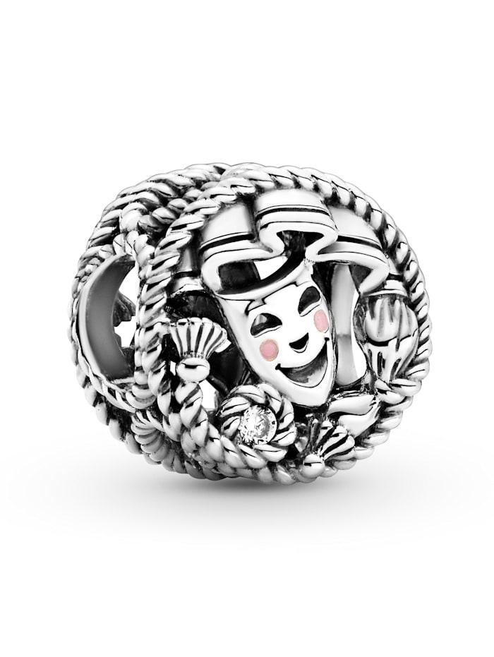 Pandora Charm -Komödie und Tragödie- 799331C01, Silberfarben