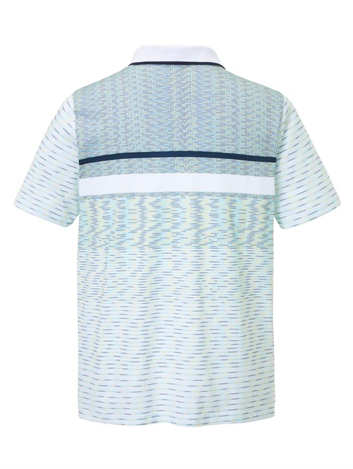 Poloshirt mit Allover Print