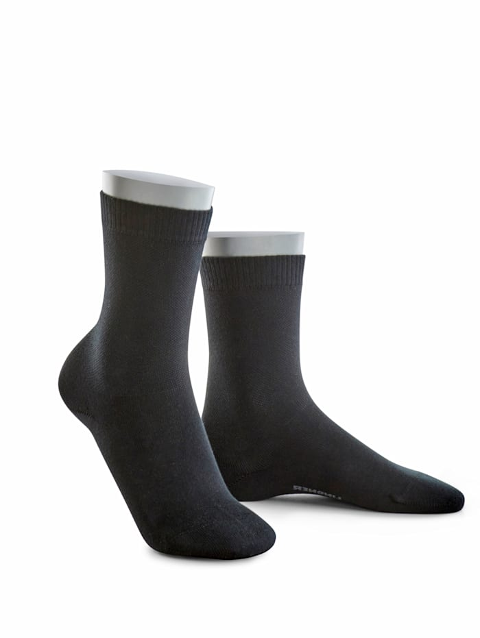 BABISTA Sokken geschikt voor diabetici, Zwart