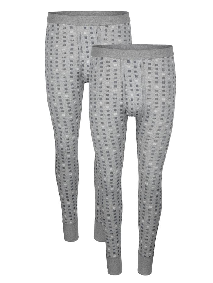 G Gregory Unterhosen mit elastischem Weichbund, Grau