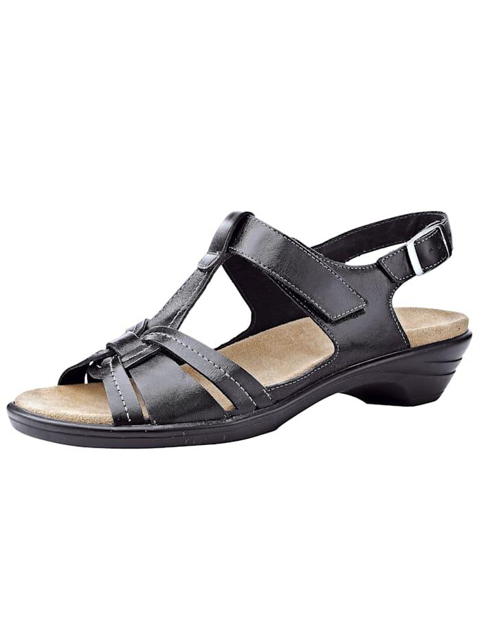 Semler Sandales, Noir