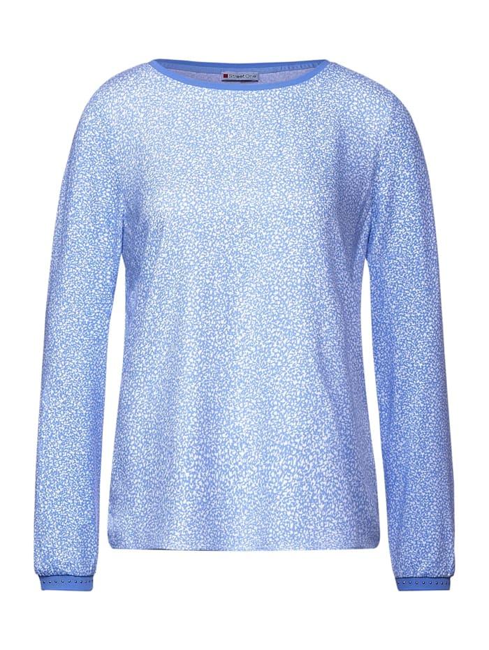 Street One Shirt mit Print, angel blue
