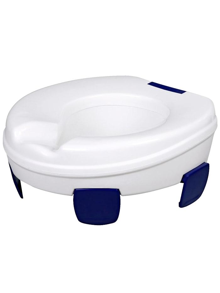 Rehaforum Toilettensitzerhöhung Clipper, weiß