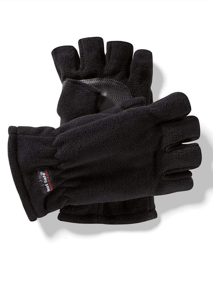 BABISTA Thermohandschoenen zonder vingers, Zwart