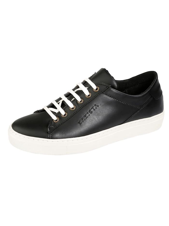 BABISTA Sneakers i skinn, Svart