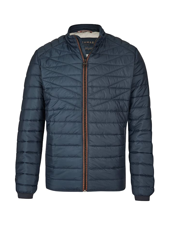 Calamar Steppjacke in Rautensteppung, NAVY