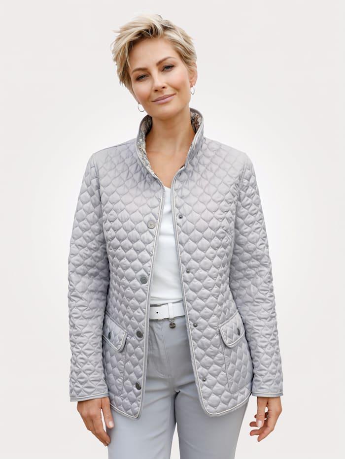 Barbara Lebek Reversible jacket, Silver Grey