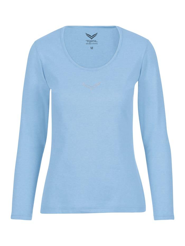 Damen Langarmshirt mit Swarovski® Kristallen